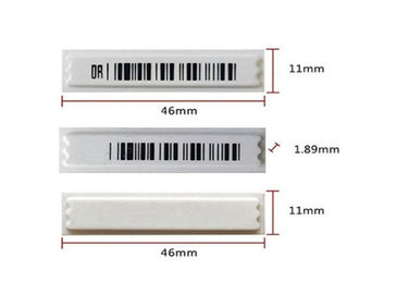 Supermarket 58KHZ Security Barcode AM Alarm Tag / Anti Theft Rfid Eas Label